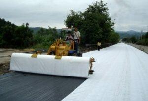 Геотекстиль – свойства и применение материала на даче